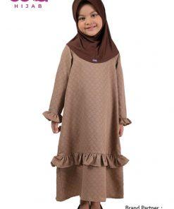 Sarimbit Keluarga Muslim – Gamis Anak Elzatta Sarimbit Azia Girl