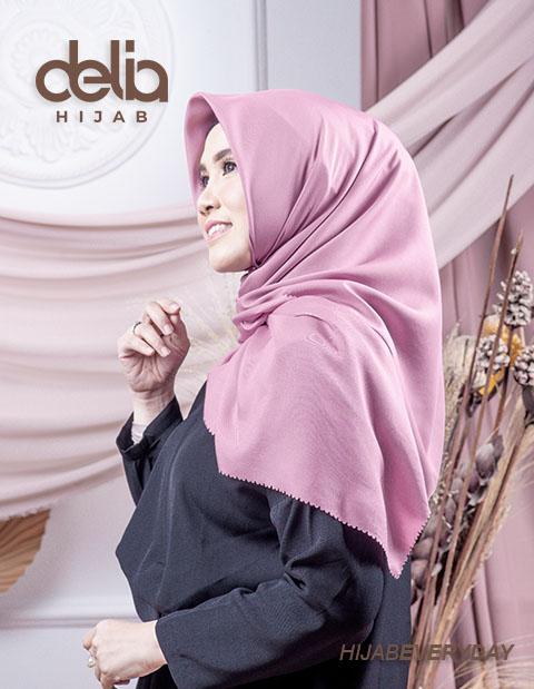 Deskha Afrida - Jilbab Segiempat Terbaru - Delia Hijab