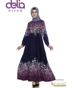 Baju Gamis Batik Cantik - Gemma Dress - Siti Hajar 1
