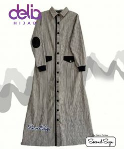 Baju Gamis Kekinian - Khalida Dress - Second Sign by Zharifa