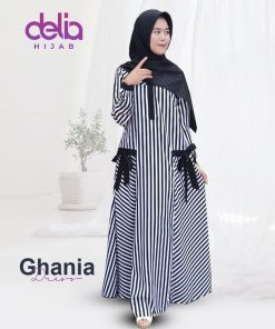 Baju Gamis Model Baru - Gavina Dress - Delia Hijab New