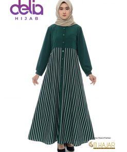 Baju Gamis Model Baru - Hafuza Dress - Siti Hajar