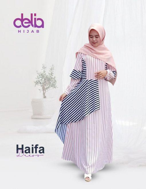 Baju Gamis Model Baru - Haifa Dress - Delia Hijab 1.1
