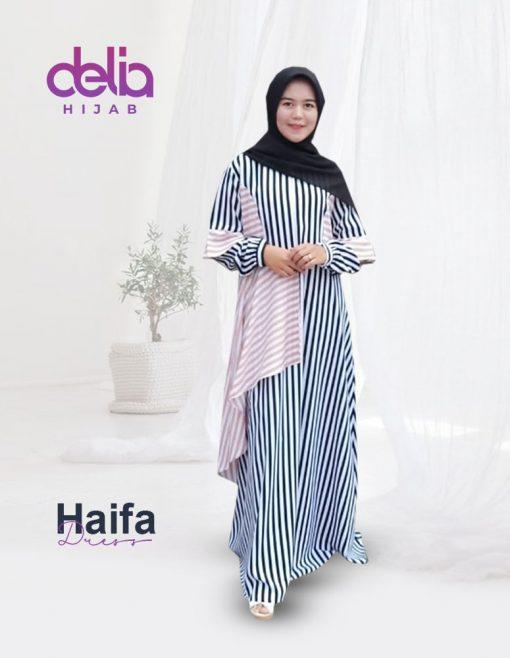 Baju Gamis Model Baru - Haifa Dress - Delia Hijab 1.2