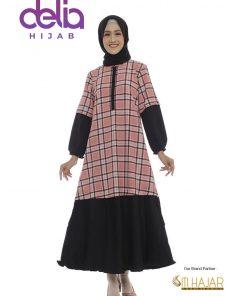 Baju Gamis Model Baru - Lydia Dress - Siti Hajar
