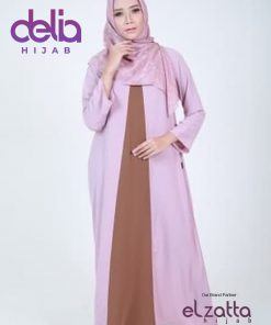 Baju Gamis Modern - Baju Elzatta Gamis Merdian - Elzatta Hijab 1