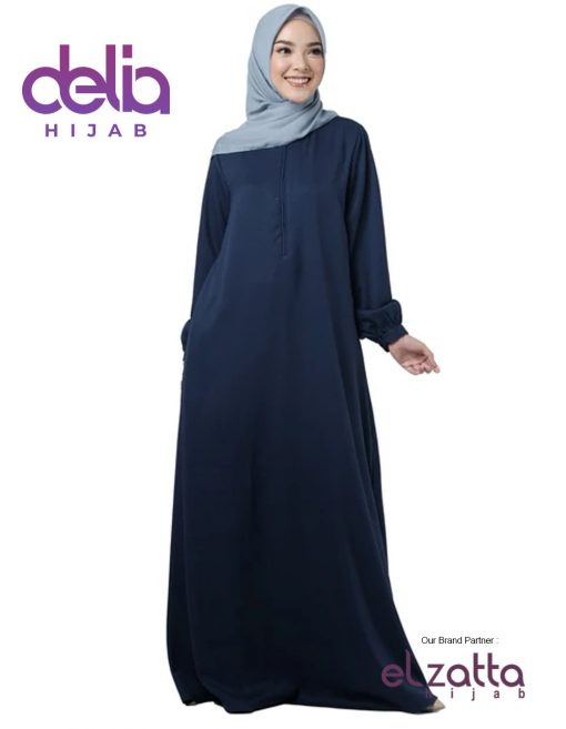 Baju Gamis Modern - Baju Elzatta Gamis Nazela - Elzatta Hijab 1