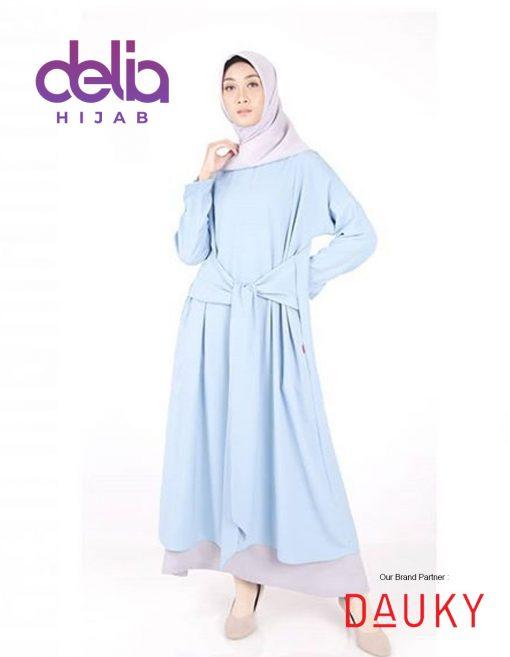 Baju Gamis Modern - M Dress Valora - Dauky Fashion