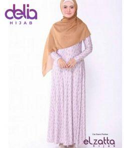 Baju Gamis Motif - Elzatta Gamis Azra Misha - Elzatta Hijab 1