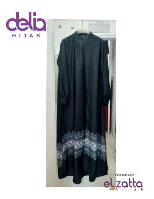Baju Gamis Motif - Elzatta Gamis Lyla - Elzatta Hijab 1