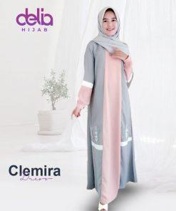 Baju Gamis Wanita Terbaru - Clemira Dress - Delia Hijab 1