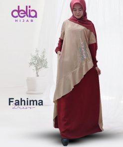 Baju Gamis Wanita Terbaru - Fahima Dress - Delia Hijab 1