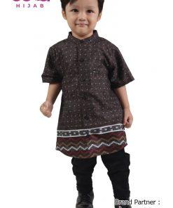 Baju Lebaran 2020 Terbaru – Baju Koko Anak Elzatta Sarimbit Izzan Boy