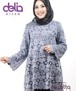 Baju Muslim Brokat - Tunik Nazila - Elzatta Hijab 1