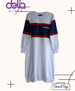 Baju Muslim Casual - Leyca Tunic - Second Sign by Zharifa Blue