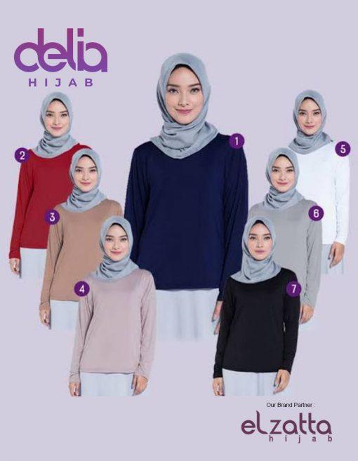 Baju Muslim Casual - Tunik Tunaya Yasmin - Elzatta Hijab 2