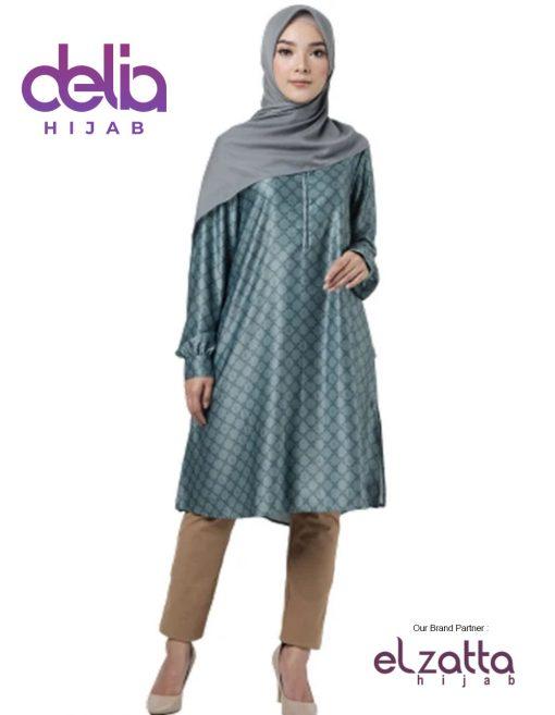 Baju Muslim Casual - Tunik Zelie - Elzatta Hijab 1