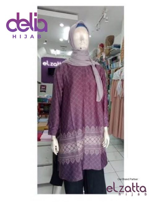 Baju Muslim Casual - Tunik Zelie - Elzatta Hijab 2