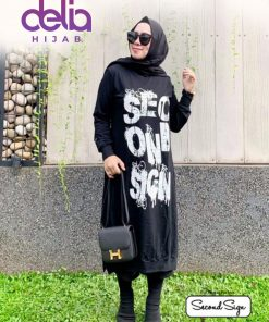 Baju Muslim Kekinian - Marva Tunic - Second Sign by Zharifa
