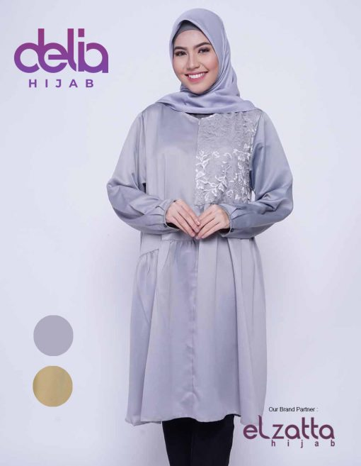 Baju Muslim Trend 2020 - Tunik Ravelia - Elzatta Hijab