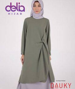 Baju Muslim Tunic - L Tunic Queensha - Dauky Hijab 4
