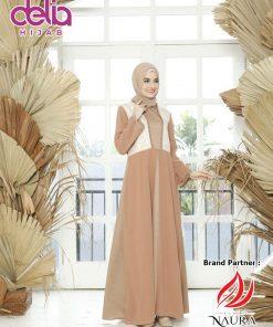 Baju Sarimbit Couple 2020 - Gamis Gyandra Couple - Rumah Naura