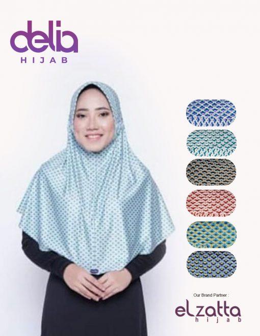 Bergo Elzatta Motif - Sahara Aileen - Elzatta Hijab