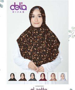 Bergo Elzatta Motif - Sahara Ratia - Elzatta Hijab