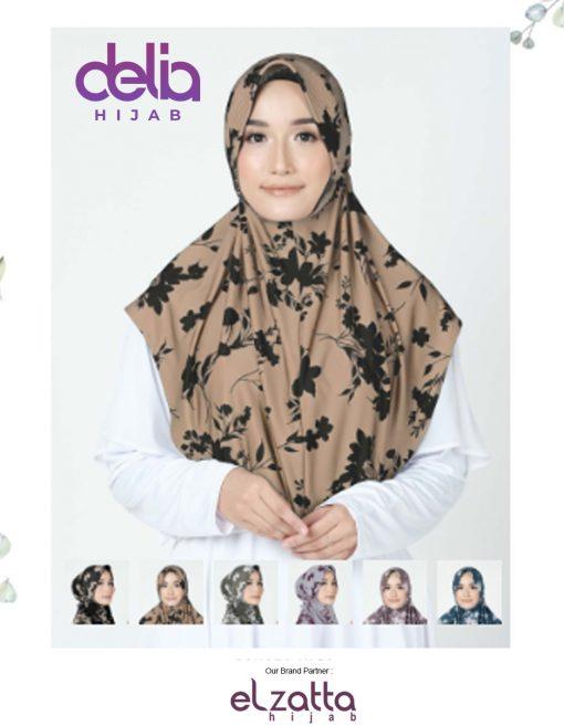 Bergo Elzatta Motif - Sahara Ulfa - Elzatta Hijab