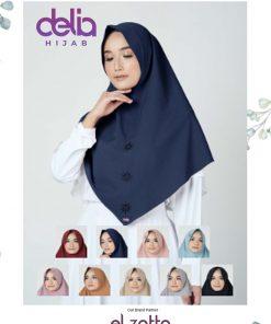 Bergo Elzatta Polos - Alya Syafi - Elzatta Hijab