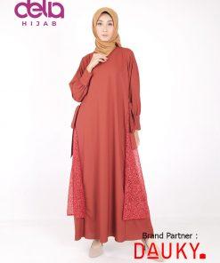Baju Lebaran Terbaru - Cylla Dress - Dauky Hijab