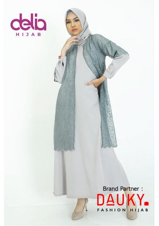 Baju Modern Masa Kini - Cyra Outer - Dauky Hijab