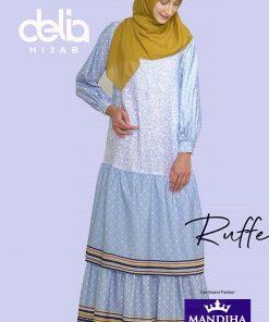 Dress Ivan Gunawan - Ruffel Floral Dress - Mandjha Hijab