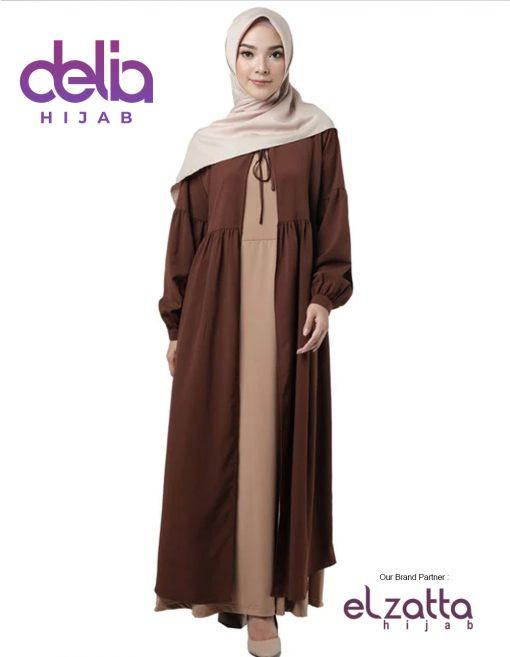 Elzatta Gamis Syar'i - Oriana Sadina - Elzatta Hijab