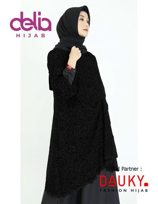 OOTD Hijab Lebaran 2020 - Elzy Outer - Dauky Hijab B