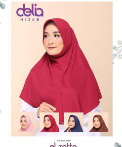 Jilbab Bergo Elzatta - Zaria Casual - Elzatta Hijab