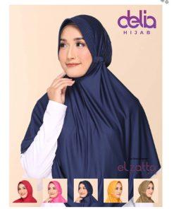 Jilbab Bergo Elzatta - Zaria Sahara L - Elzatta Hijab