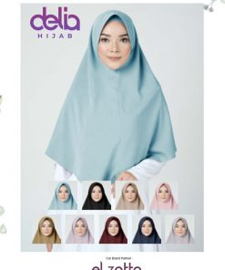 Jilbab Elzatta Bergo - Zaria Histya - Elzatta Hijab