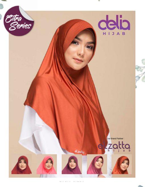 Kerudung Bergo Elzatta - Zaria Citra - Elzatta Hijab