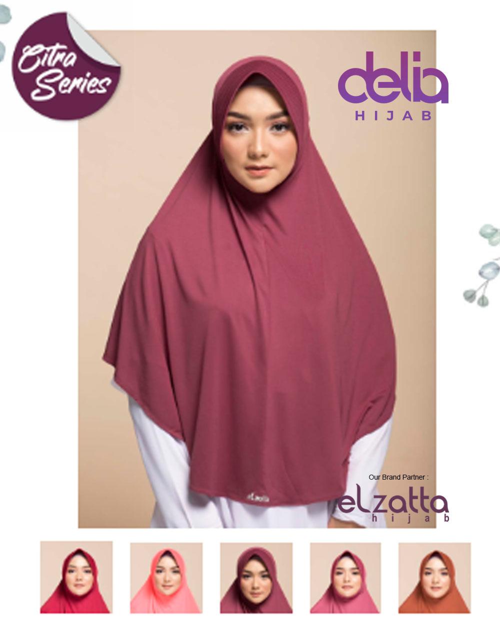 Kerudung Bergo Elzatta Zaria Kirana Elzatta Hijab Delia Hijab
