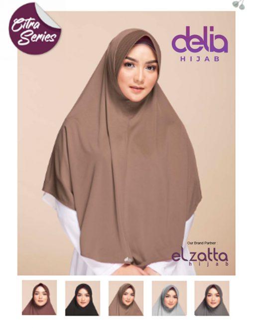 Kerudung Bergo Elzatta - Zaria Kirana - Elzatta Hijab