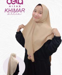 Kerudung Khimar Syari'i Terbaru - Khimar Delia - Delia Hijab