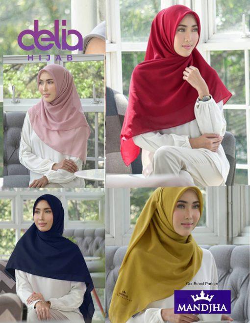 Kerudung Mandjha - Basic Premium Voal Scarf - Hijab Mandjha