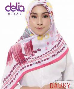 Kerudung Motif Terbaru - Shinzu Scarf - Dauky Hijab 1