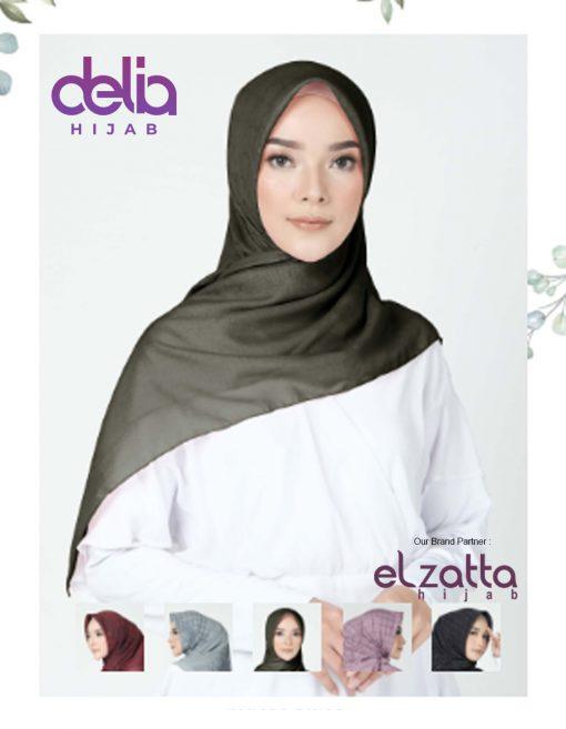Kerudung Segi Empat Motif - Kanara Fathia - Elzatta Hijab