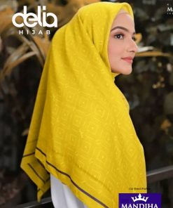 Kerudung Segiempat Motif Simple - Remember Me Scarf - Hijab Mandjha