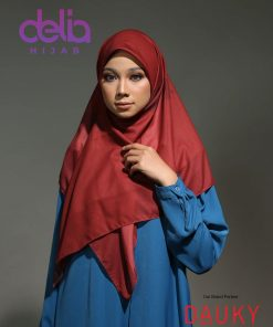 Kerudung Syar'i Modern - Jasmine Scarf - Dauky Hijab 1