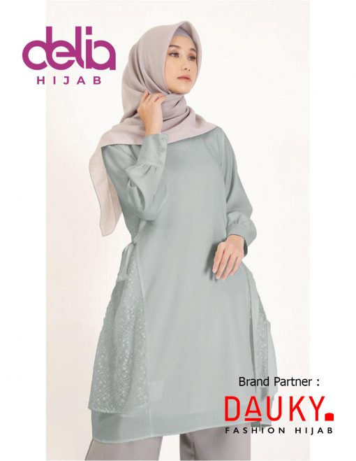 OOTD Hijab Kekinian 2020 - Netsy Tunic - Dauky Hijab A