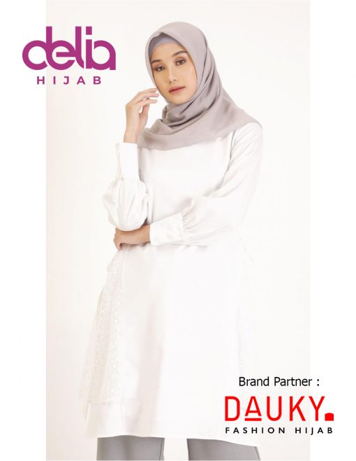 OOTD Hijab Kekinian 2020 - Netsy Tunic - Dauky Hijab PU