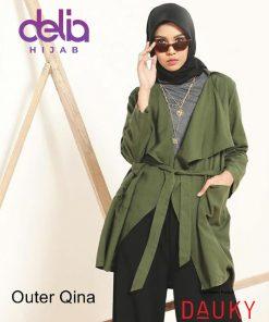 OOTD Hijab Kekinian 2020 – Outer Qina – Dauky Fashion